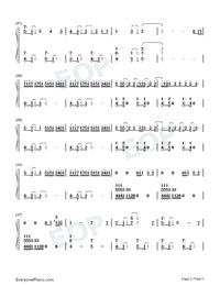 A Thousand Miles Vanessa Carlton Free Piano Sheet Music Piano Chords