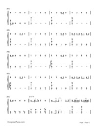 Delusion Tax-Hatsune Miku-Numbered-Musical-Notation-Preview-3