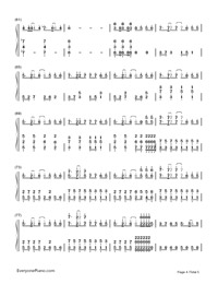 Delusion Tax-Hatsune Miku-Numbered-Musical-Notation-Preview-4