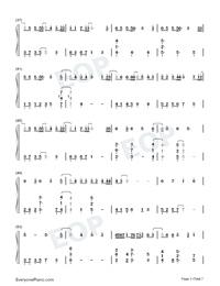 Hau Tuu Sekai Seifuku-World Domination How-to-Numbered-Musical-Notation-Preview-3
