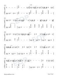 Hau Tuu Sekai Seifuku-World Domination How-to-Numbered-Musical-Notation-Preview-4