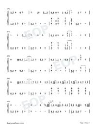 Hau Tuu Sekai Seifuku-World Domination How-to-Numbered-Musical-Notation-Preview-5