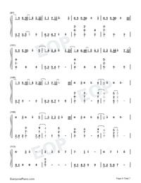 Hau Tuu Sekai Seifuku-World Domination How-to-Numbered-Musical-Notation-Preview-6