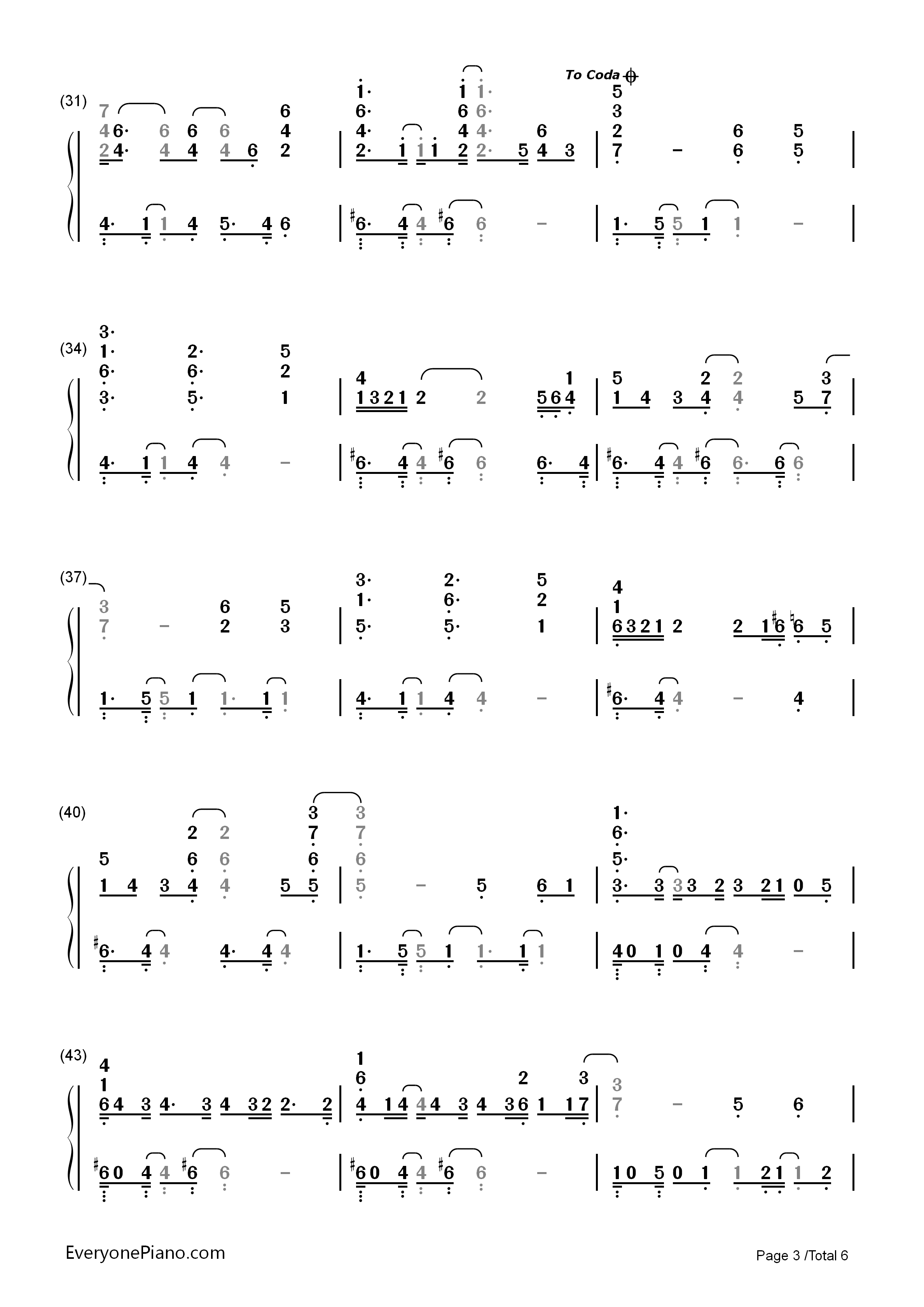 Ordinary people john legend numbered musical notation preview 3 listen now print sheet ordinary people john legend numbered musical notation preview 3 hexwebz Choice Image