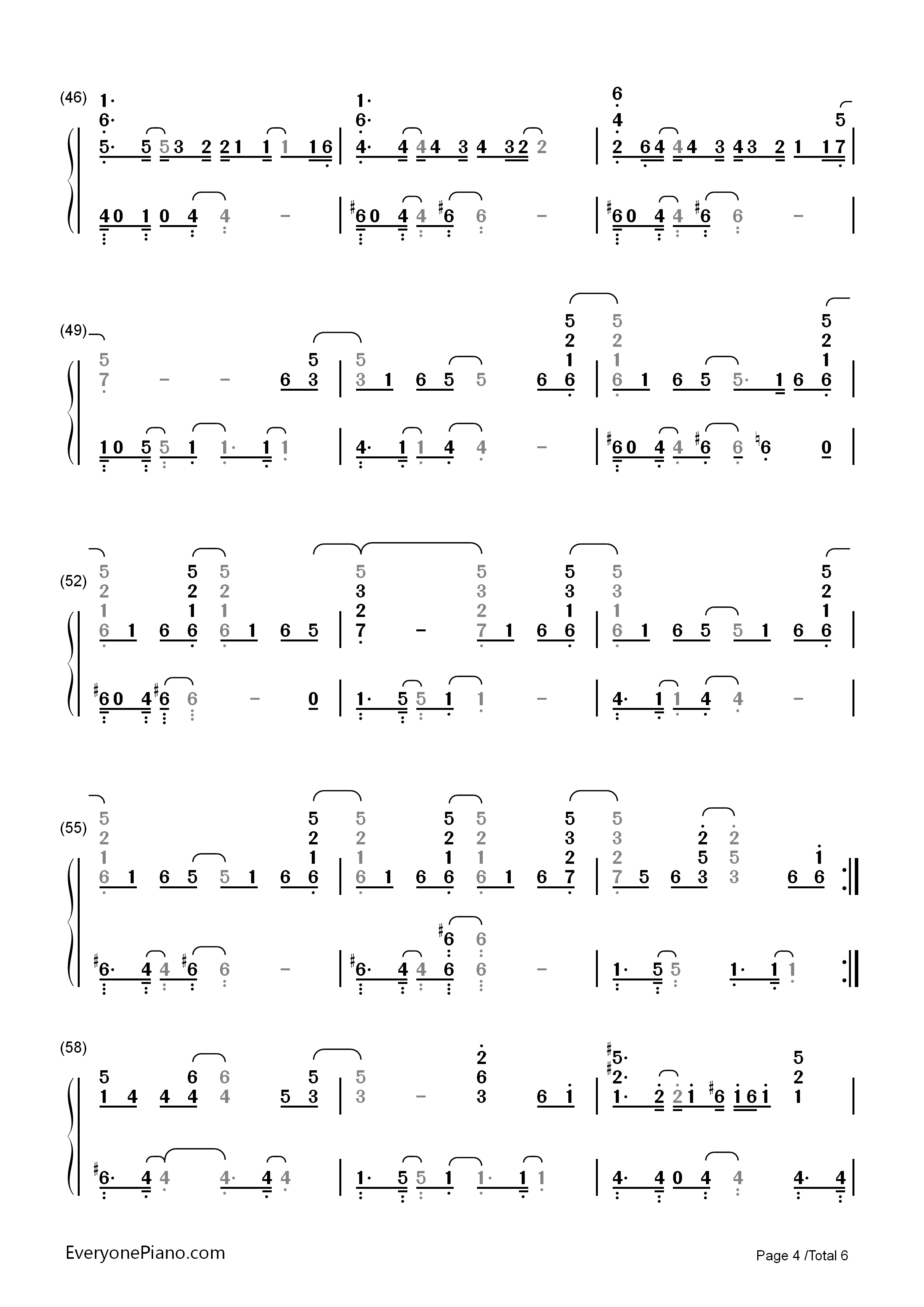 Ordinary people john legend numbered musical notation preview 4 listen now print sheet ordinary people john legend numbered musical notation preview 4 hexwebz Choice Image