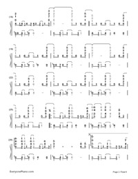 Ordinary People-John Legend-Numbered-Musical-Notation-Preview-2