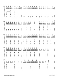 Somewhere Only We Know-Numbered-Musical-Notation-Preview-2