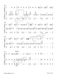 Mary Did You Know-Kathy Mattea Numbered Musical Notation Preview 3