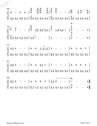 Hatsukoi-First Love Theme-Numbered-Musical-Notation-Preview-4
