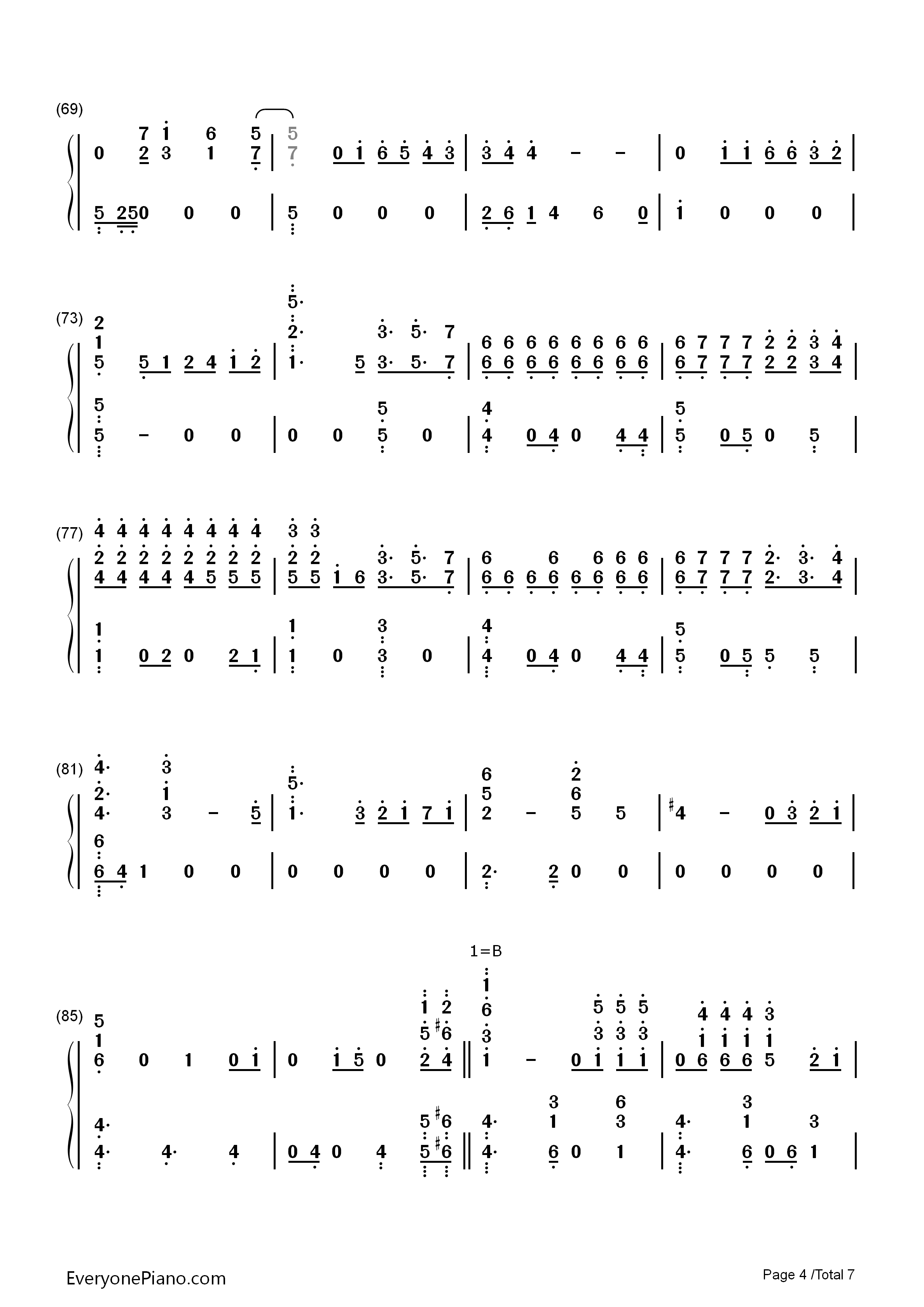 Miracles in december exo free piano sheet music piano chords miracles in december exo numbered musical notation preview 4 hexwebz Gallery