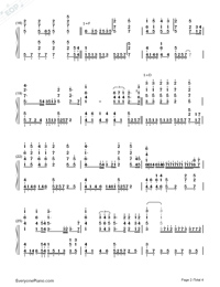 Where Are You Christmas-Faith Hill Numbered Musical Notation Preview 2