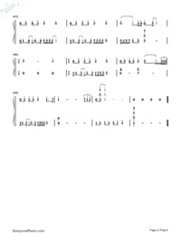 Where Are You Christmas-Faith Hill Numbered Musical Notation Preview 4