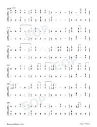Autumn Leaves-Ed Sheeran-Numbered-Musical-Notation-Preview-4