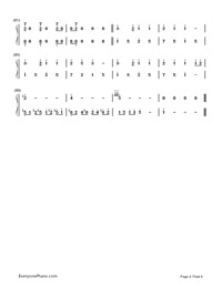 Melt-Hatsune Miku: Project Diva-Numbered-Musical-Notation-Preview-4