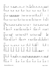 Hello/How Are You?-Hatsune Miku-Numbered-Musical-Notation-Preview-3