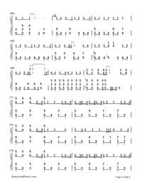 Hello/How Are You?-Hatsune Miku-Numbered-Musical-Notation-Preview-5
