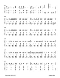 Black Board-Hatsune Miku-Numbered-Musical-Notation-Preview-4