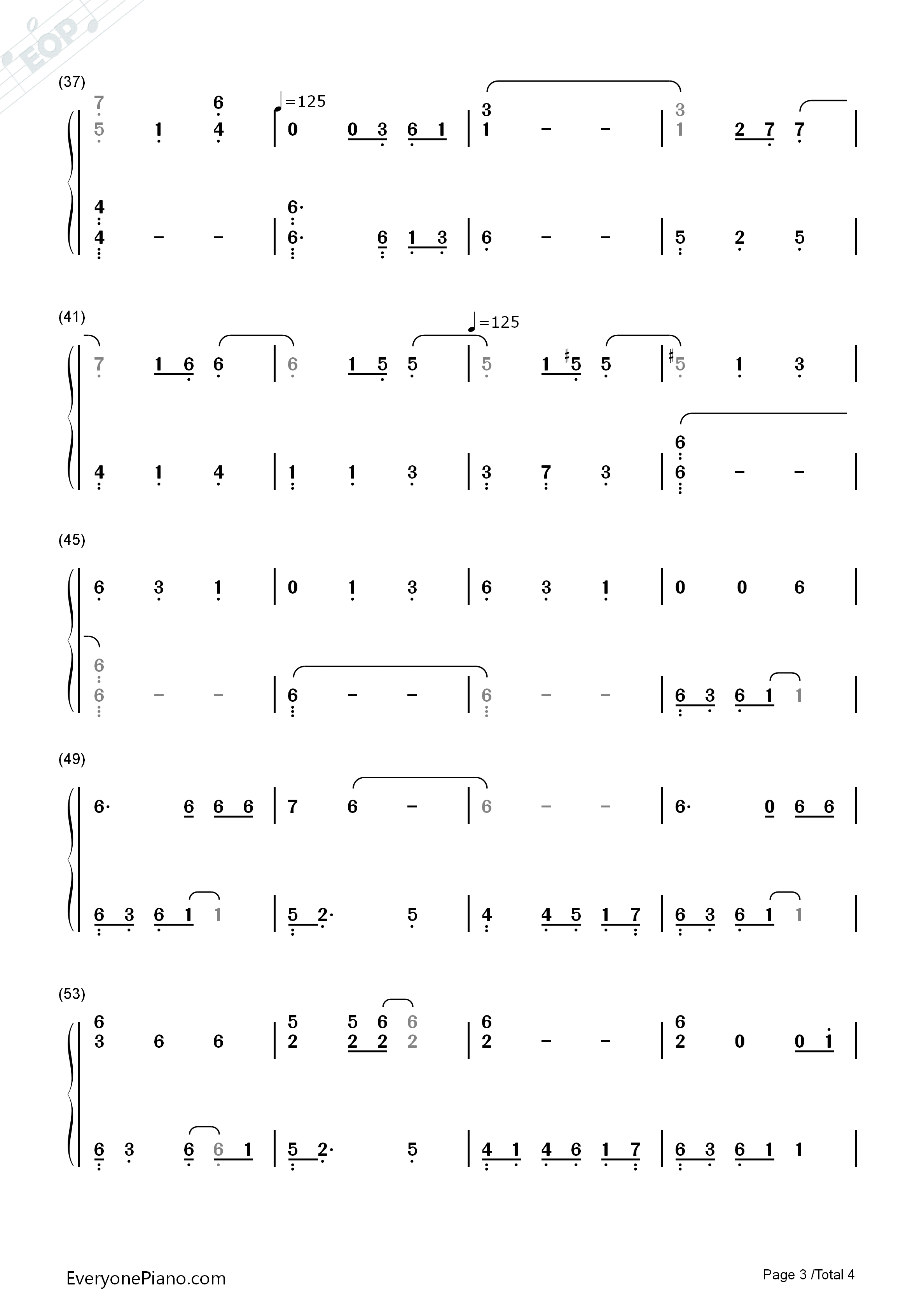Nothing else matters metallica numbered musical notation preview 3 listen now print sheet nothing else matters metallica numbered musical notation preview 3 hexwebz Image collections
