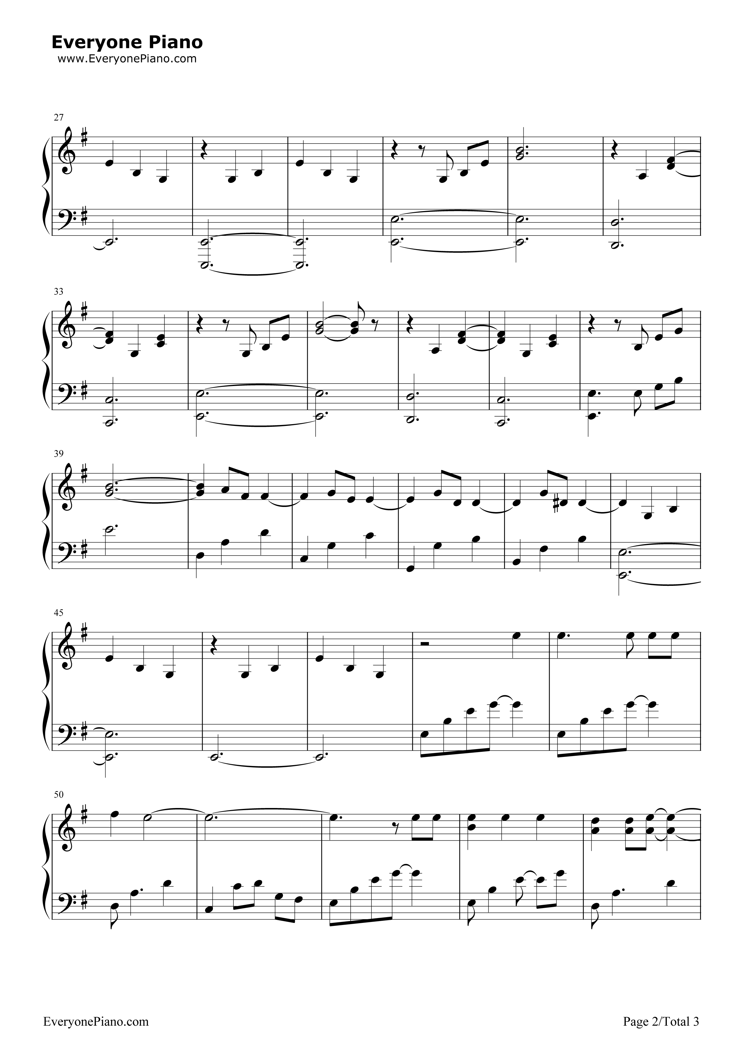Nothing else matters metallica stave preview 2 free piano sheet listen now print sheet nothing else matters metallica stave preview 2 hexwebz Image collections