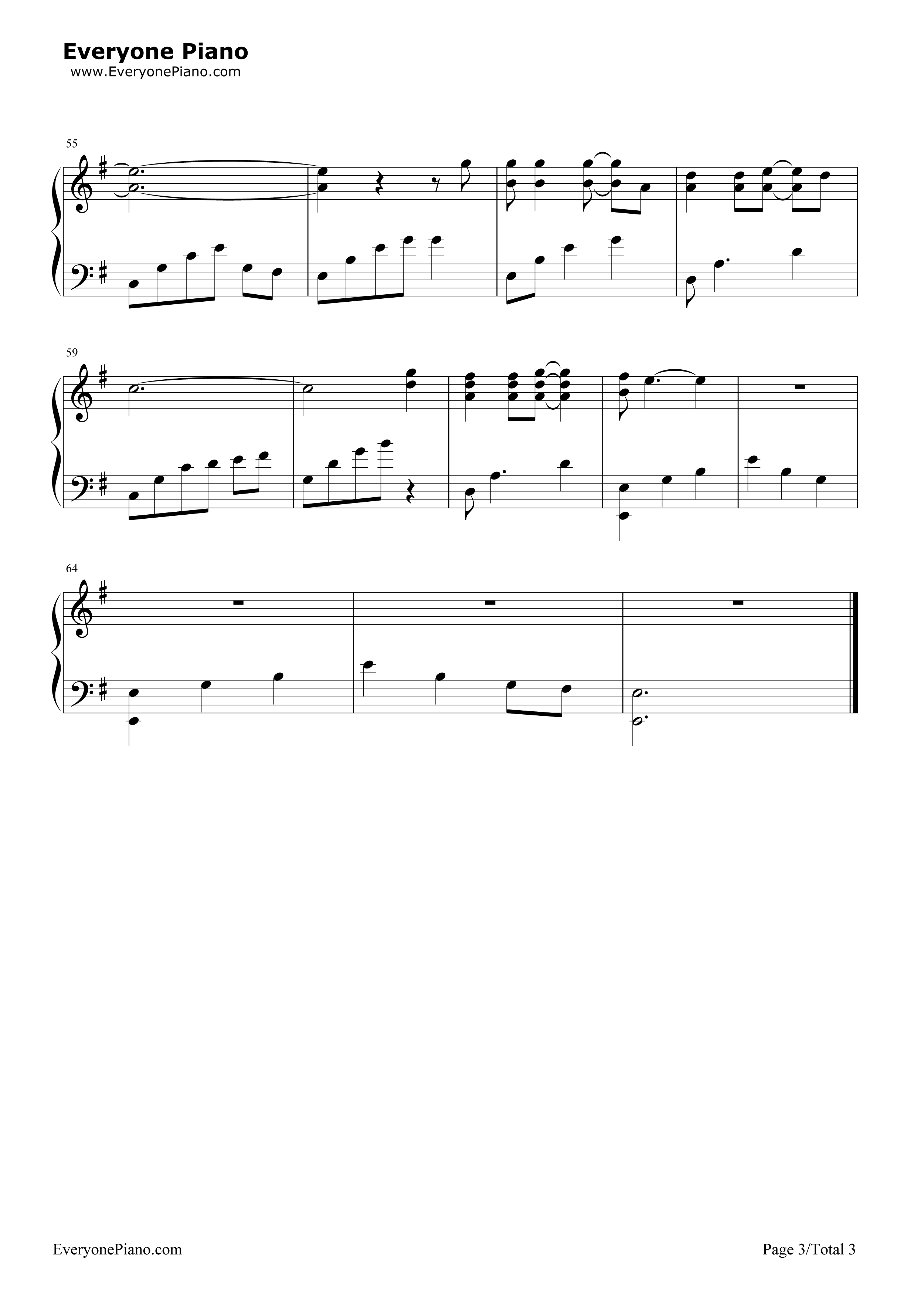 Nothing else matters metallica stave preview 3 free piano sheet listen now print sheet nothing else matters metallica stave preview 3 hexwebz Image collections