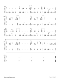 You Are Not Alone-Michael Jackson-Numbered-Musical-Notation-Preview-2