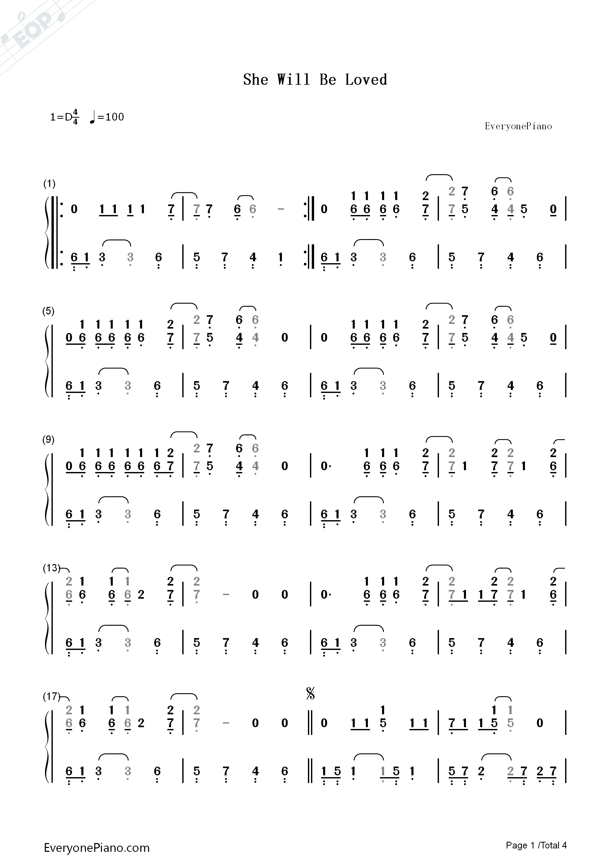 Maroon 5 She Will Be Loved Guitar Chords Image Collections Basic