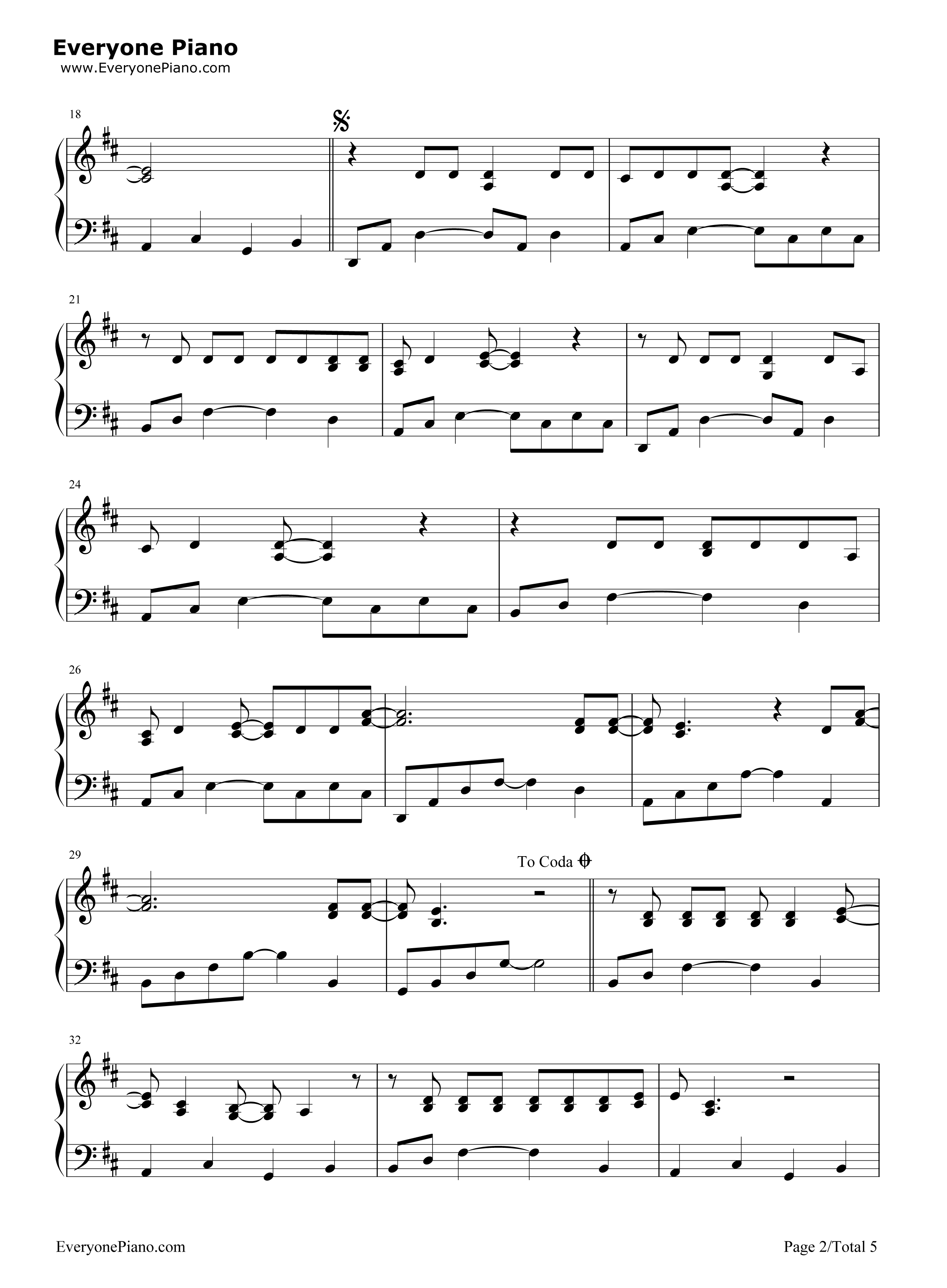 she will be loved sheet music pdf