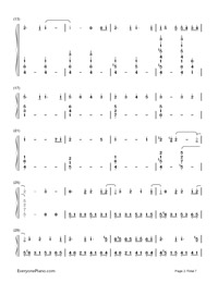 SPiCa-Hatsune Miku-Numbered-Musical-Notation-Preview-2