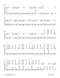 SPiCa-Hatsune Miku-Numbered-Musical-Notation-Preview-4