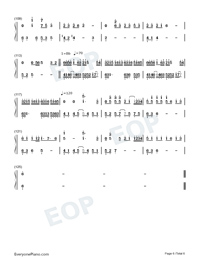 Epic Tribute Medley-Joe Hisaishi-Numbered-Musical-Notation-Preview-6
