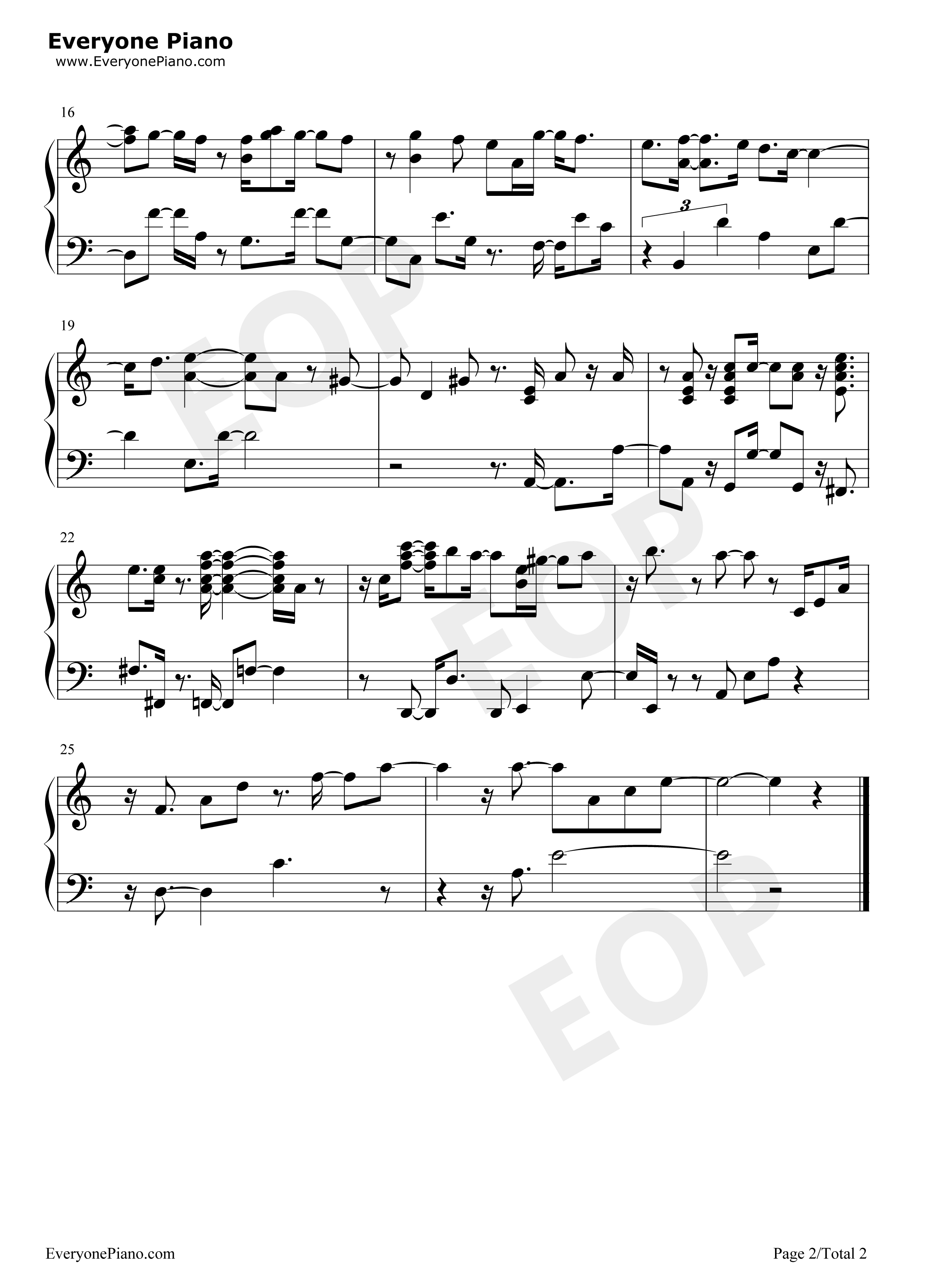 Gloomy sunday billie holiday stave preview 2 free piano sheet listen now print sheet gloomy sunday billie holiday stave preview 2 hexwebz Image collections