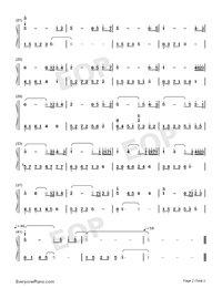 The Promise-Secret Garden Numbered Musical Notation Preview 2