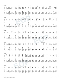 Oh!-Girls' Generation-Numbered-Musical-Notation-Preview-2