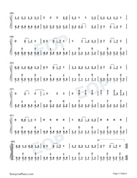 Oh!-Girls' Generation-Numbered-Musical-Notation-Preview-3
