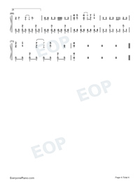 Oh!-Girls' Generation-Numbered-Musical-Notation-Preview-4