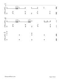 Cantarella-Hatsune Miku-Numbered-Musical-Notation-Preview-3