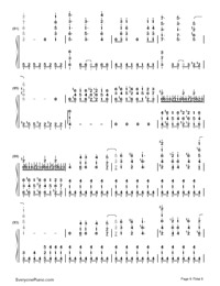 Let It Go Full Version-Frozen OST-Numbered-Musical-Notation-Preview-6