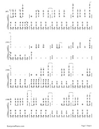 Let It Go Full Version-Frozen OST-Numbered-Musical-Notation-Preview-7