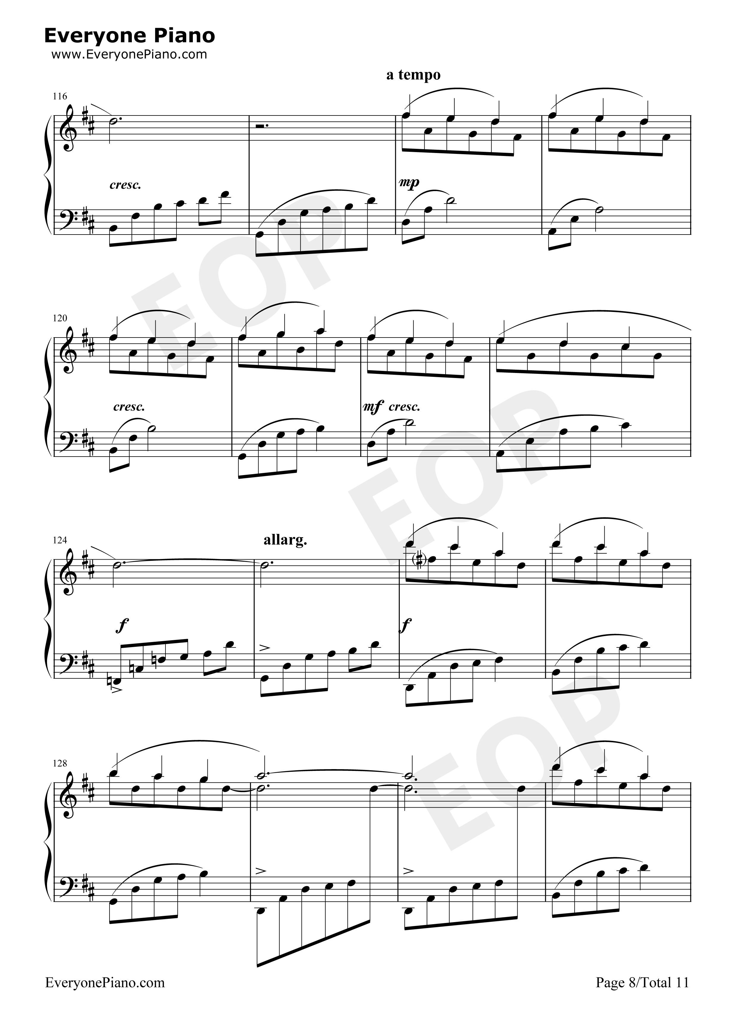 Free sheet music for amateur musicians and learners