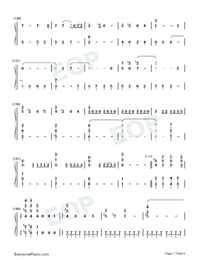 For the First Time in Forever-Frozen OST-Numbered-Musical-Notation-Preview-7