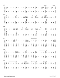 Adore You-Miley Cyrus-Numbered-Musical-Notation-Preview-2