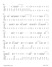 Adore You-Miley Cyrus-Numbered-Musical-Notation-Preview-4