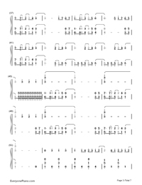 Neon Lights-Demi Lovato-Numbered-Musical-Notation-Preview-3