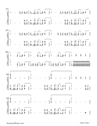 Neon Lights-Demi Lovato-Numbered-Musical-Notation-Preview-5
