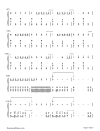 Neon Lights-Demi Lovato-Numbered-Musical-Notation-Preview-6