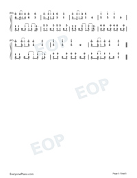 3.6.5-EXO Numbered Musical Notation Preview 5