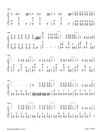 Bubble-G E M  Free Piano Sheet Music & Piano Chords
