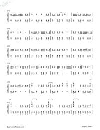 Haru Haru-Big Bang-Numbered-Musical-Notation-Preview-2