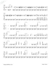 Haru Haru-Big Bang-Numbered-Musical-Notation-Preview-4
