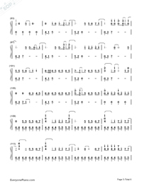 Haru Haru-Big Bang-Numbered-Musical-Notation-Preview-5